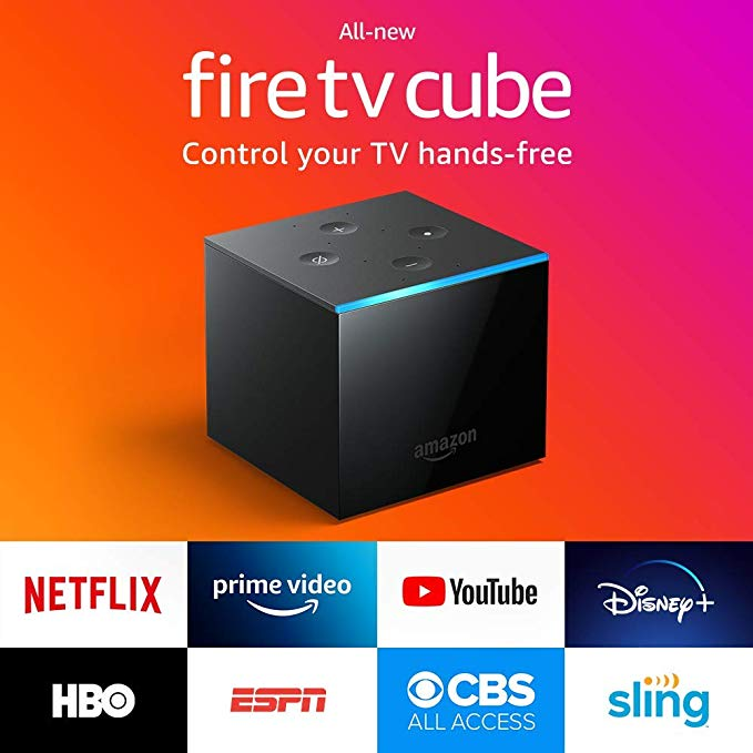 Amazon All New Fire Tv Cube Hands Free With Alexa And 4k Ultra Hd Streaming Media Player Amazon Fire Tv Hd Streaming Amazon Fire Tv Stick