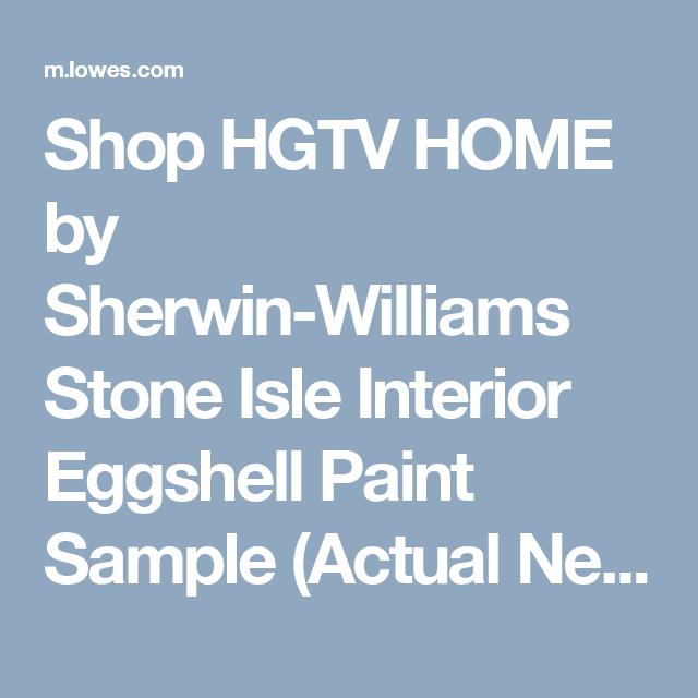 Shop Hgtv Home By Sherwin Williams Stone Isle Interior