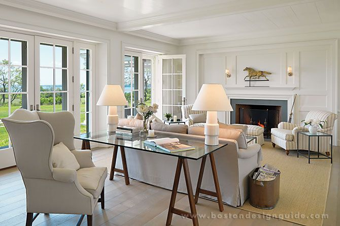 Mellowes & Paladino Architects  High End Architects In Boston Ma Best Living Room Boston Design Decorating Inspiration