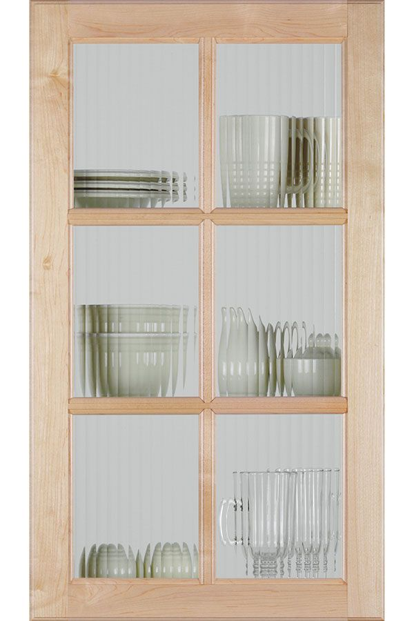 a mullion cabinet door with a reeded glass insert supports a variety rh pinterest com