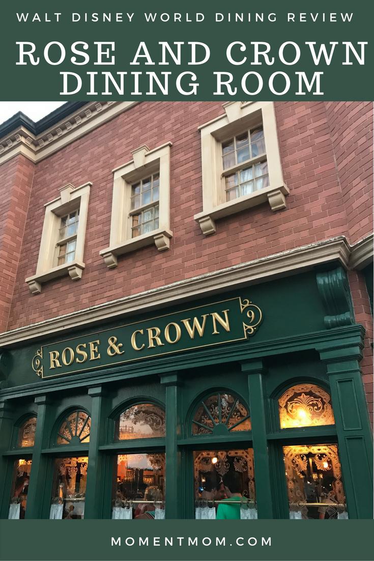 The Rose And Crown Dining Room: Our Delicious English Meal