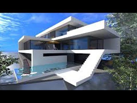 MINECRAFT How To Build A Modern House Best Modern House - Minecraft schones haus bauen youtube