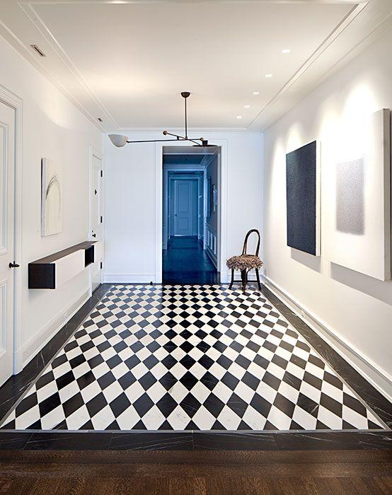 Balance perfecto este apartamento construido a finales de for Diseno de interiores en los anos 90
