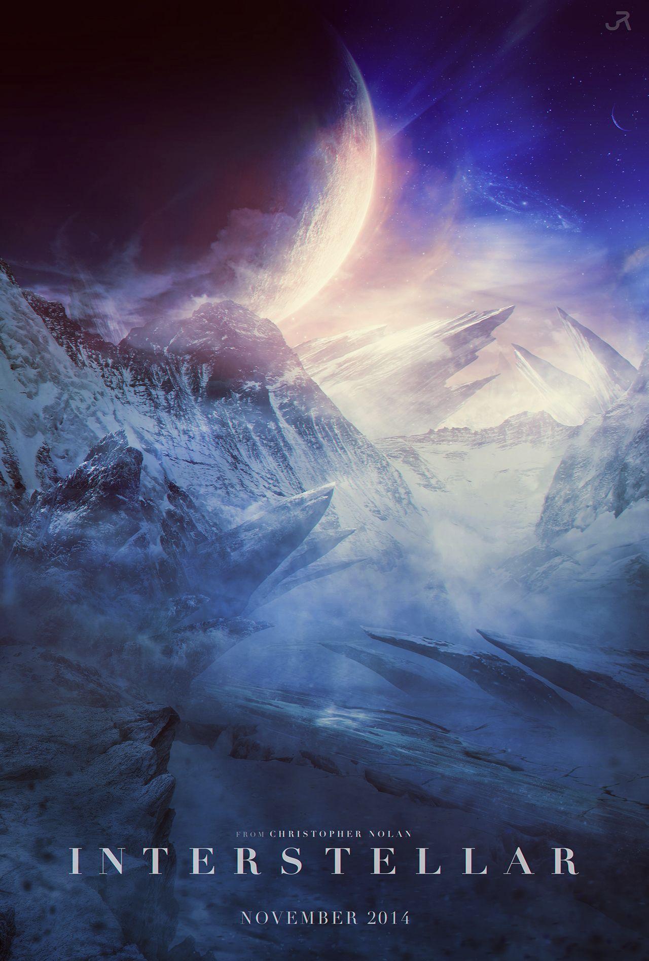 Interstellar Planet Scenery Poster 02 Interstellar Movie Interstellar Interstellar Posters