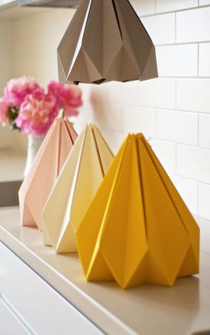 Trendy Origami Lamp Shape Lampshades Ideas #origami