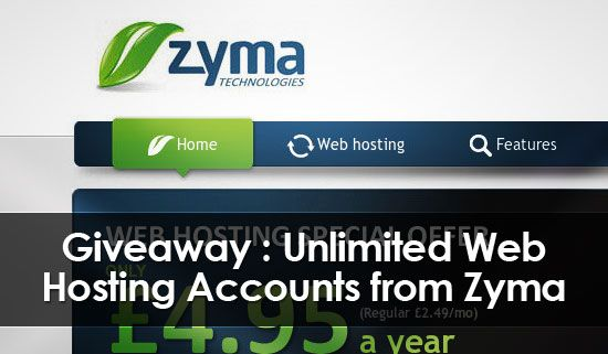 Zyma hosting giveaway : Getting a good hosting plan nowadays has become very difficult and with the increase in number of hosting service providers it becomes all the more difficult to choose from them. Of all the new hosting companies out there a company has risen up to show that it too has a cutting edge, its name is Zyma, participate in Zyma hosting giveaway, read further to know more. Zyma hosting is doing a very good job of providing new people with hosting at affordable rates as well…