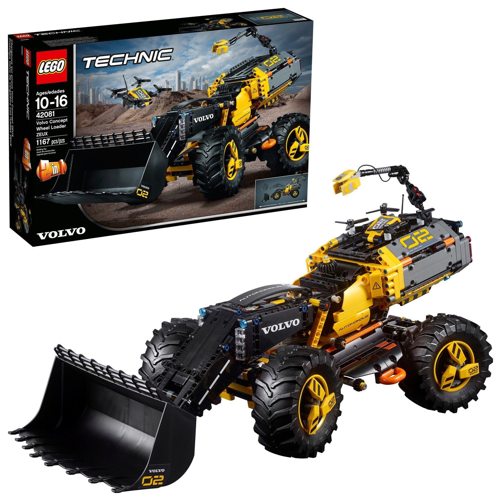 Lego Technic Volvo Concept Wheel Loader Zeux 42081 Lego Technic