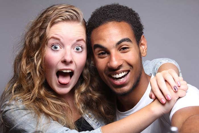 Interracial rencontres Millennials