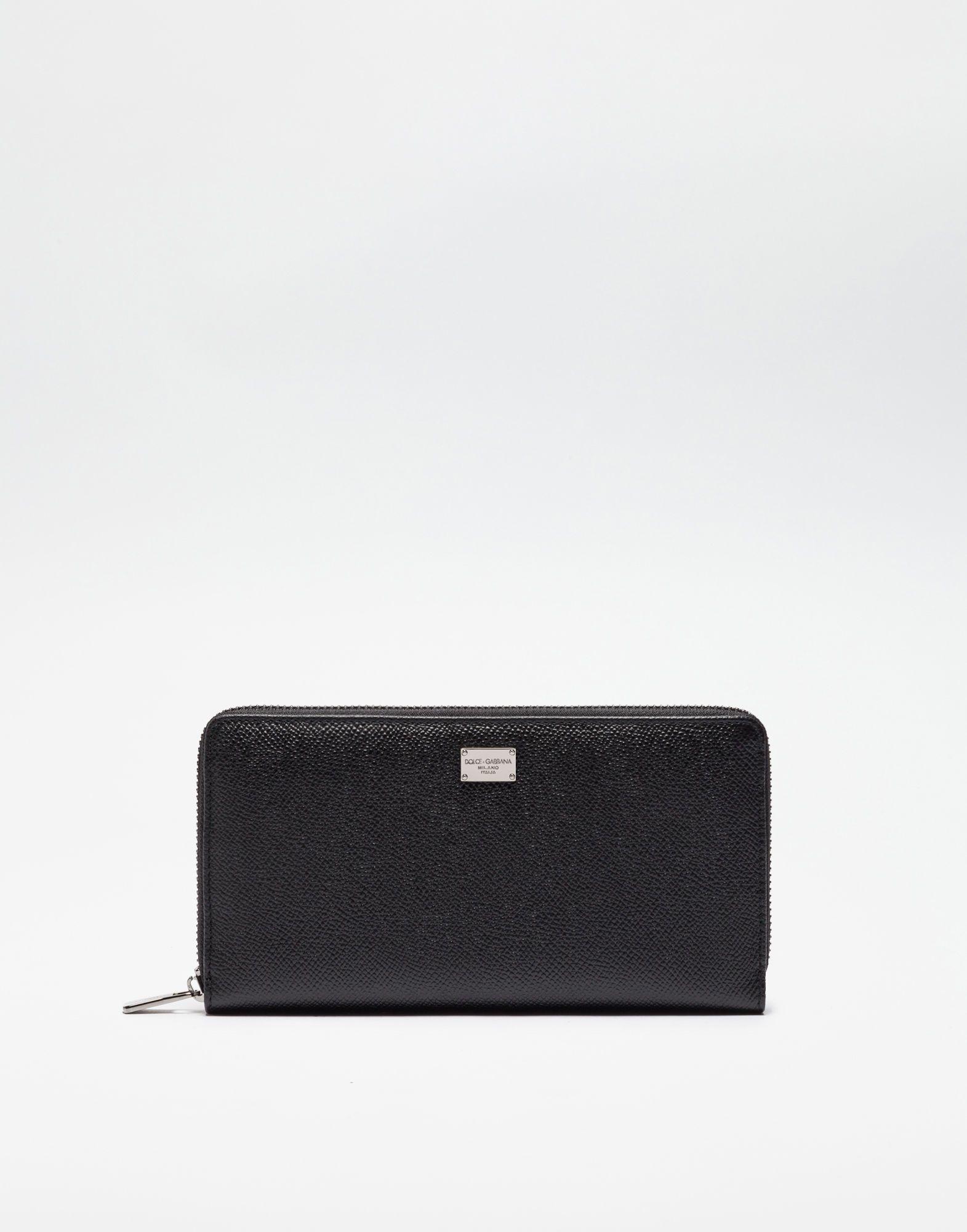 0bec87616b DOLCE   GABBANA Zip Around Wallet In Dauphine Leather.  dolcegabbana ...