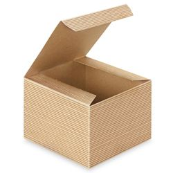 5 X 5 X 3 1 2 Kraft Gift Boxes Favor Box With Images Kraft Gift Boxes Gift Boxes Wholesale Gift Packaging