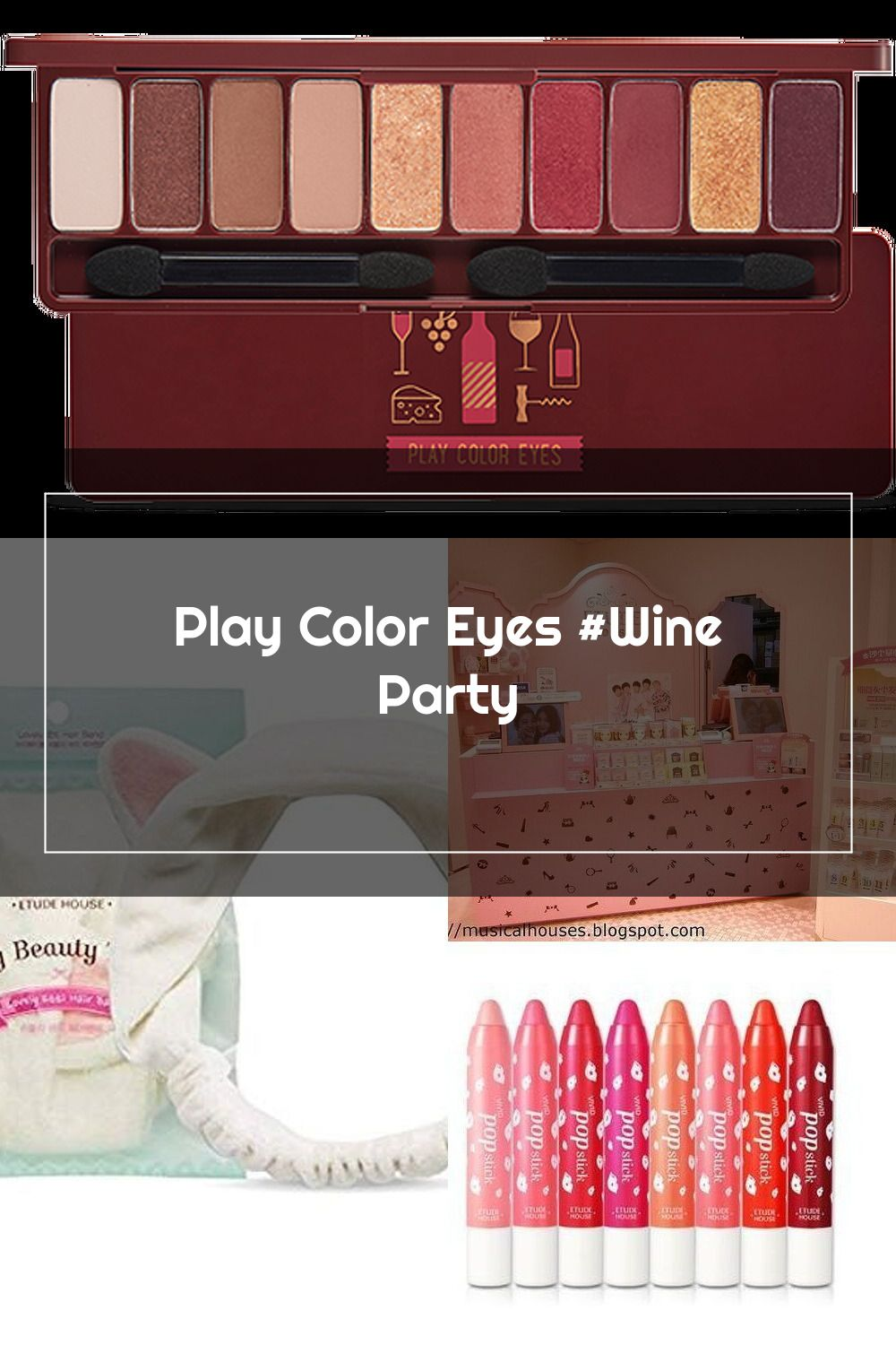 Etude House Play Color Eyes Wine Party In 2020 Party Eyes Etude House Wine Parties