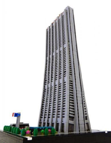 Chase Tower A Modernist In Chicago By Architect C LEGO Model Rocco Buttliere