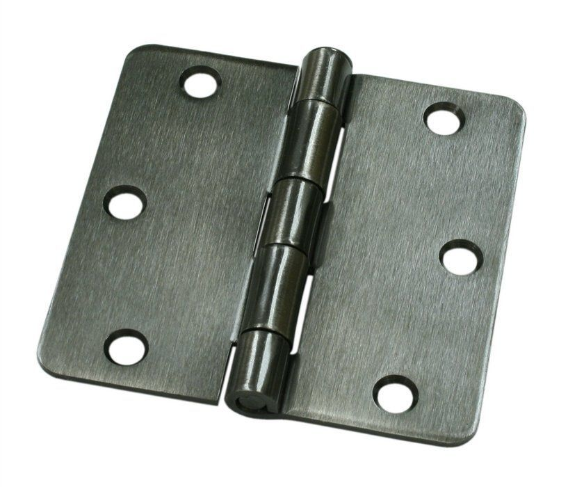 Deltana S35r4bk Single Doors Door Hinges Black Door Hinges