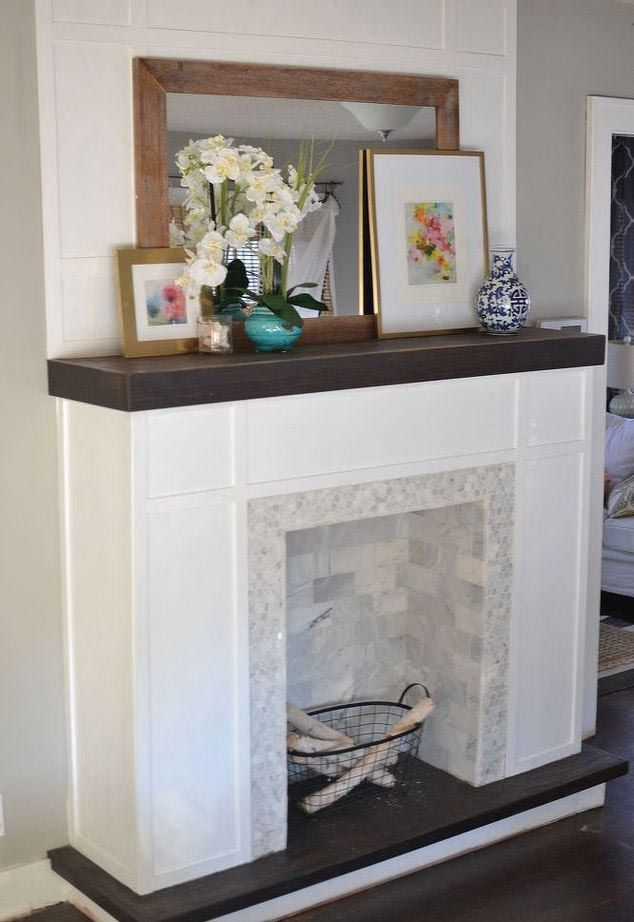 How To Make A Fake Fireplace Out Of Wood Faux Fireplace Diy Faux Fireplace Decor
