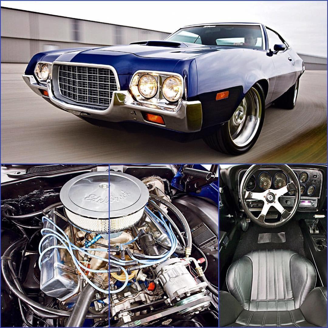 1972 Ford Torino Fast Facts Engine 460 Big Block Pistons Factory Standard Bore Oiling Melling Pump Moroso 7 Quart Pan Rotating
