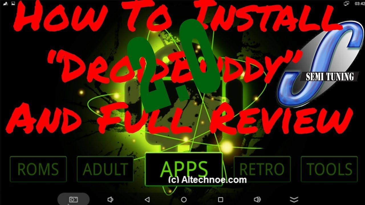 Droid Buddy 2.0 Only APK You Will Ever Need But A Must