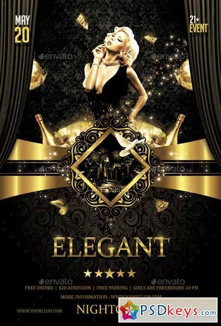 elegant flyer - Buscar con Google publicidad Pinterest Searching - party flyer