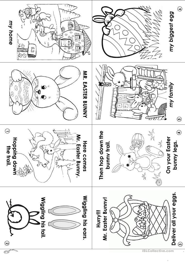 Image Result For Easter Worksheets Printable Mini Books Easter Worksheets Fire Emblem Fates [ 1079 x 763 Pixel ]