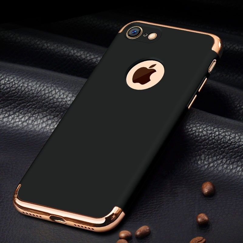wholesale dealer bb31c 3fc54 Ultra-thin Shockproof Armor Plated Frame Back Cover Case for Apple ...