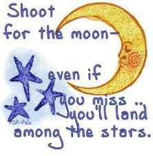 Aim for the Stars Clip Art
