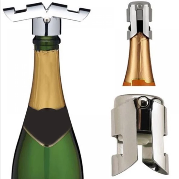 Kitchen Craft Champagne Prosecco /& Sparkling Wine Fizzy Drinks Bottle Stopper