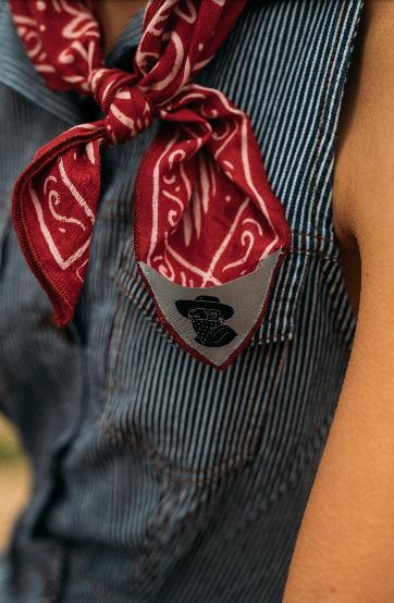 Handmade Original Unique Artist Design Fair trade certified Gives back to charity 100/% Organic Cotton Bandana