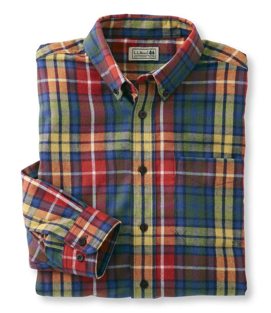 98de425b3d01f Scotch Plaid Flannel Shirt