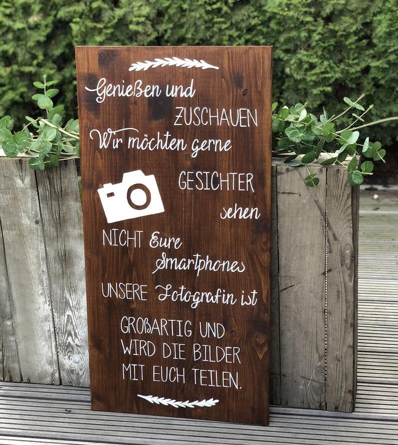 Photo of 35 Ideen für eine rustikale Hochzeitsdeko aus Holz – Hochzeitskiste