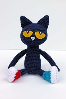 Pete is a pretty cool cat. He's pretty good at not letting things bother him and keeping a positive attitude, and this pattern will help you make your own! Inspired by the Pete the Cat books written by Eric Litwin, this cool cat will be sure to bring a smile to your face.