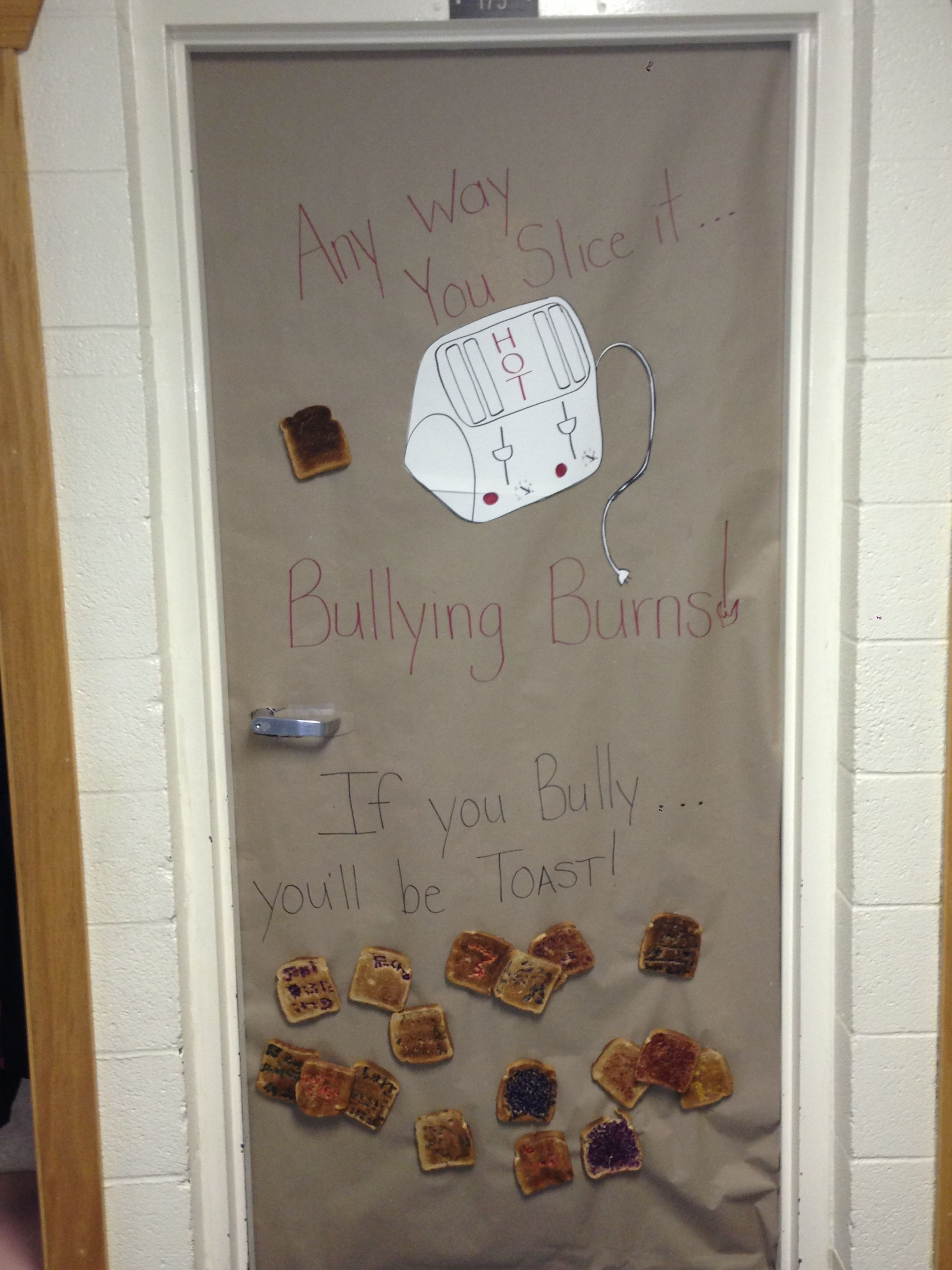 Anti-Bullying Door Decorations No Drugs | Classroom ...
