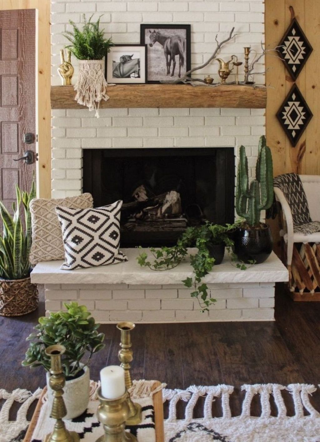 41 Genius Fireplace Makeover Design Ideas Home By X Aztec Home Decor Fireplace Makeover Fireplace Mantel Decor