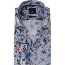 Photo of Profuomo Hemd Blumen Blau ProfuomoProfuomo