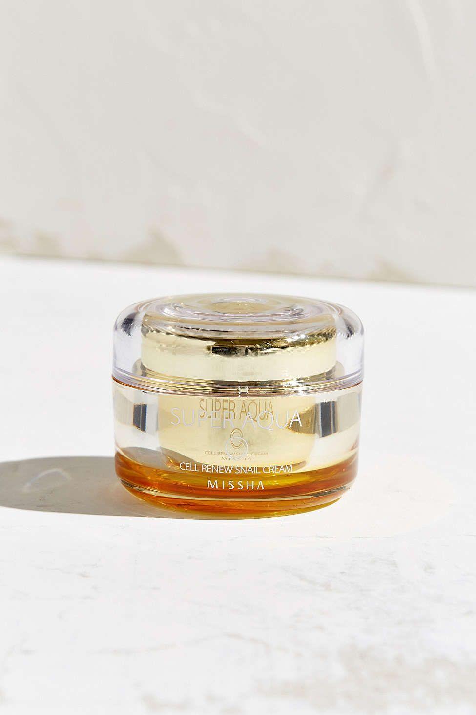Missha Super Aqua Cell Renew Snail Cream Snail Cream Missha Repair Cream