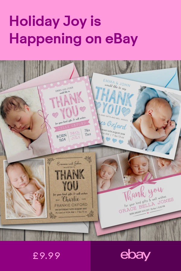 cards  stationery home furniture  diy ebay  baby thank