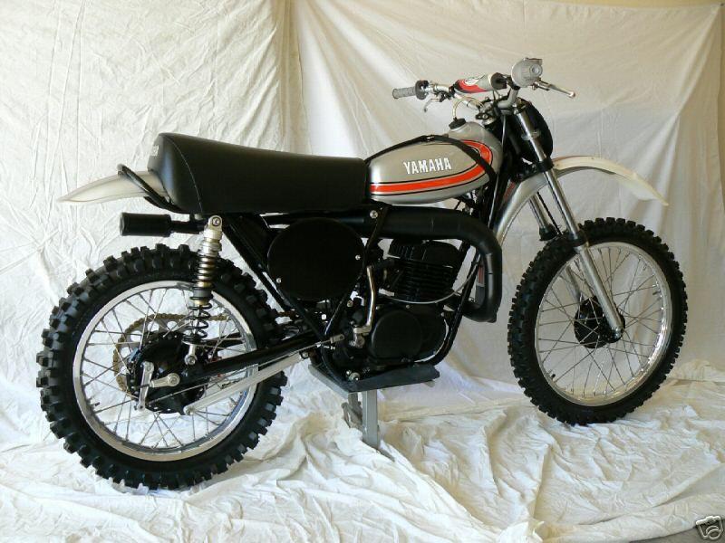 Yamaha YZ 250 A 1974 | MX | Yamaha bikes, Dirt bike racing