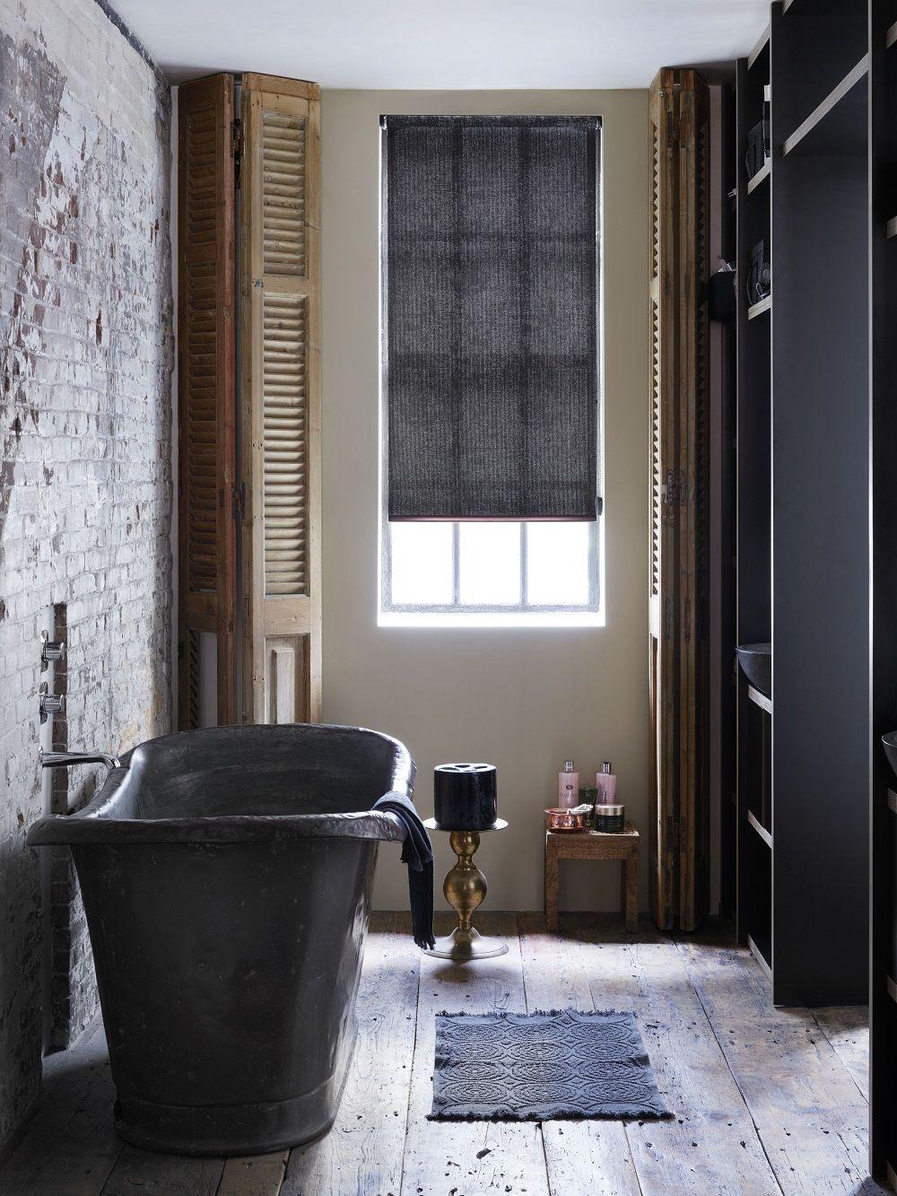stijlvol #badkamer #rolgordijn #steen #natuur #wonen | Klassiek ...