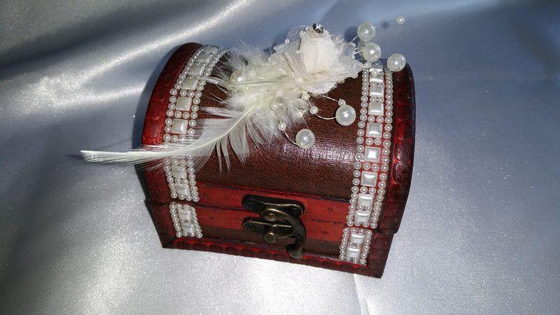 Ringkissen - Romantik - Ringschatulle - ein Designerstück von Ring-Kissen bei DaWanda
