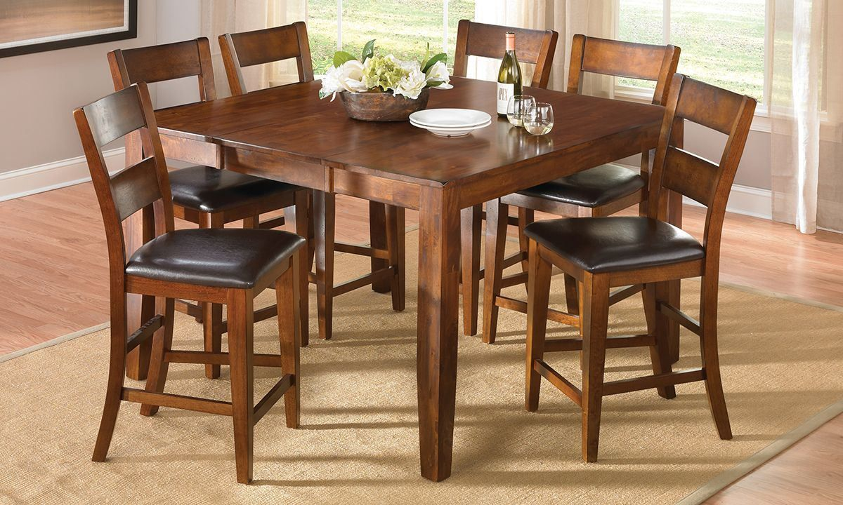 Null Luxe Furniture Counter Height Dining Sets
