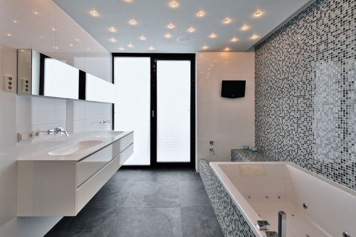 mooi plafond badkamer – devolonter, Badkamer