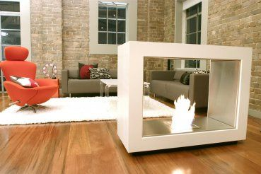 Ecosmart Vision Kamin Raumteiler Fireplaces Pinterest