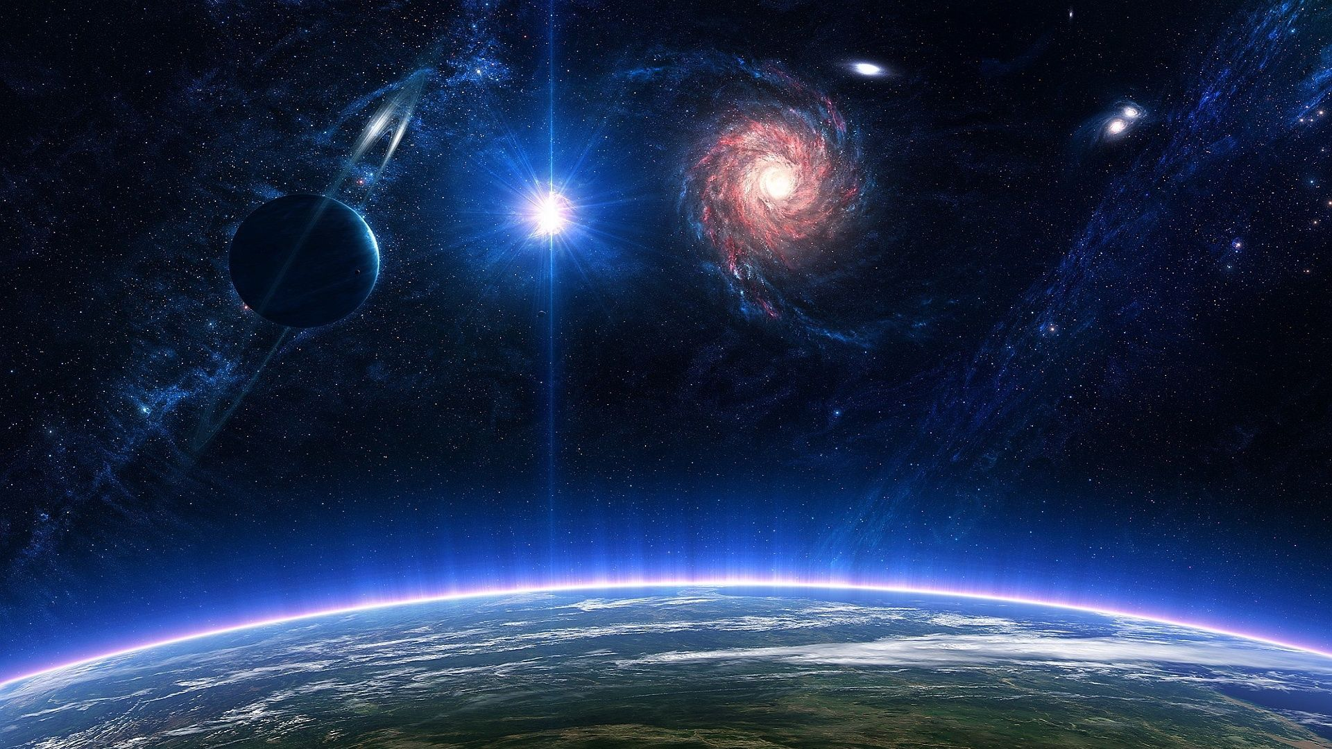 1920x1080 Galaxy Space Wallpapers Wallpapers Pinterest