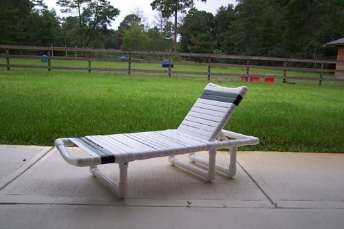Patio Furniture With PVC More