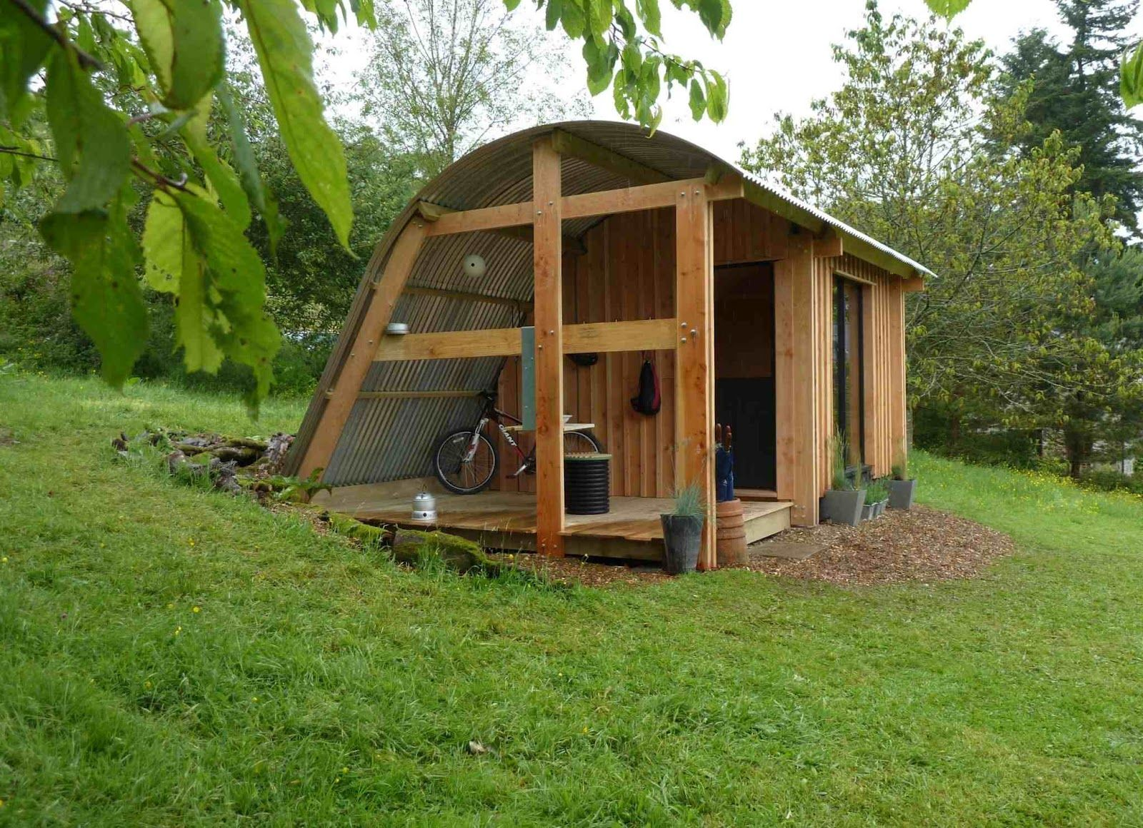 Shedworking MorphPOD Outdoor Spaces, Shelters, Cabins
