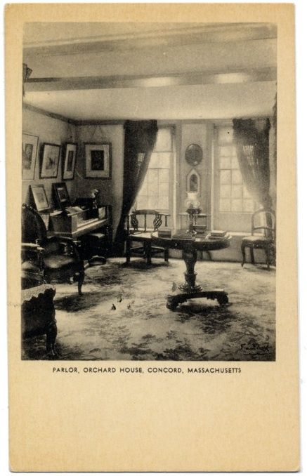 Parlor, Orchard House (Alcott House)