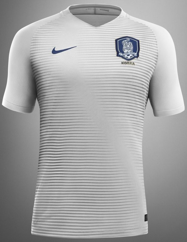 61c2c64d3f Nike lança as novas camisas da Coreia do Sul - Show de Camisas ...