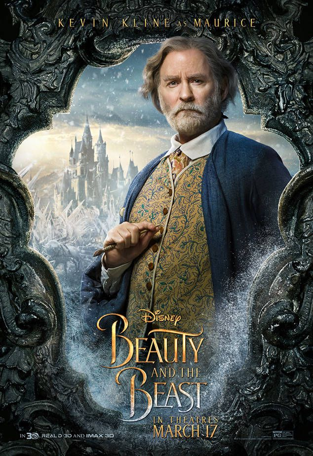 Kevin Kline From Beauty And The Beast Character Posters Beauty