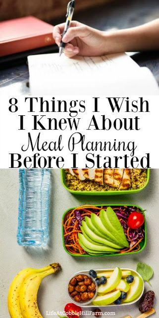 8 Things I Wish I Knew About Meal Planning Before I Started #ketomealplan