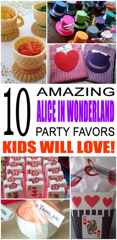 Alice In Wonderland Party Favor Ideas Alice In Wonderland Tea Party Birthday Alice In Wonderland Tea Party Wonderland Party