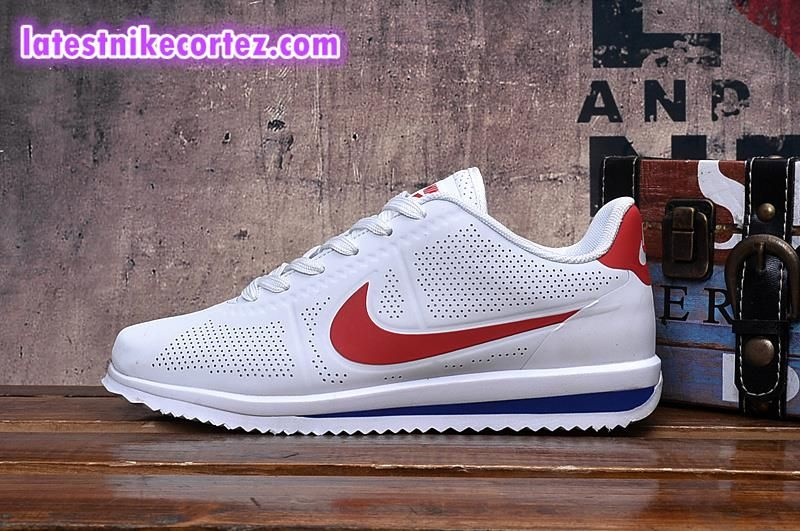 new products 15138 f4703 Latest Discount Nike Classic Cortez Ultra Moire Sneakers For Man White Red  Hot