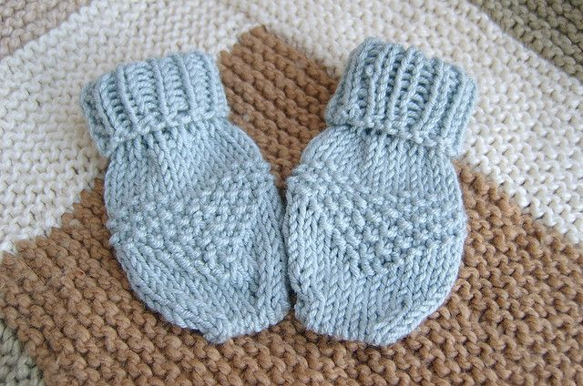Thumbless Baby Mittens By Adeepercut Via Flickr Knitting And